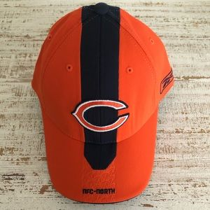 Fitted Navy & Orange Chicago Bears Hat